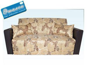 диван в ткани linco golg- sunny dark brown