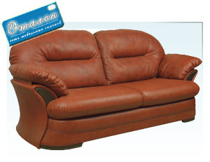 кожаный диван брюссель