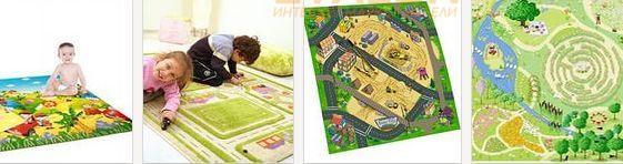игровые ковры для детей
