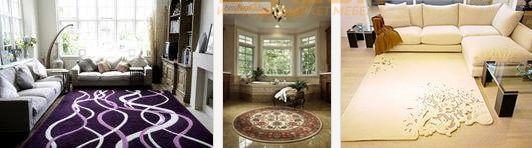 ковры в интерьере помещений