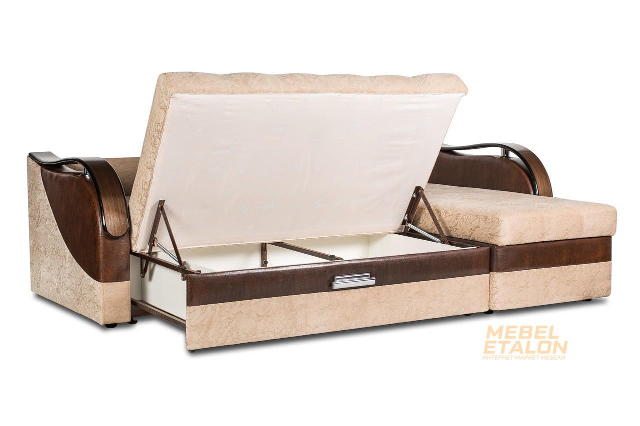 угловой диван Мечта 9 - механизм раскладывания