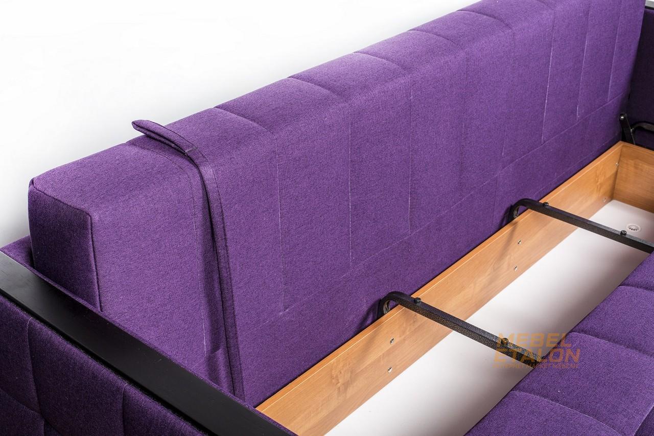 Мюнхен 4 угловой диван в разложенном виде