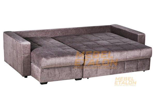 Угловой диван Раунд - разложенный диван