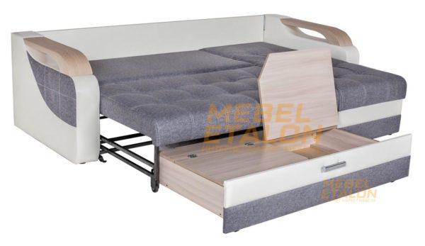 Угловой диван Алекс идеал - бельевой ящик