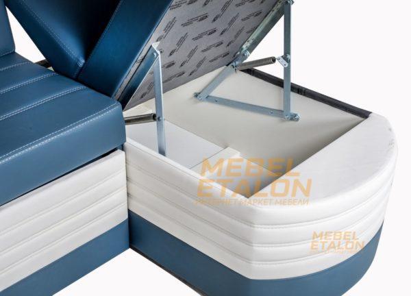 Лео - угловой диван с вместительным ящиком для хранения