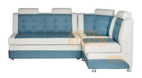 Кухонный диван Тонсул 2 угловой - ALPHA 09 (ПТК), компаньон ALPHA 05 (ПТК)