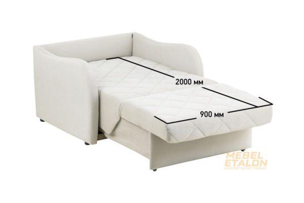 Диван Мега 01- 900, ткань El-2